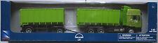 NewRay - MAN F2000 LKW mit Abrollmulde und Anhänger grün 1:43 Neu/OVP