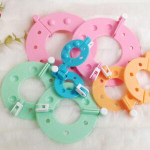 4-Sizes-Pompom-Maker-Fluff-Ball-Weaver-Needle-Knitting-Wool-Tool-Craft-DIY-Set
