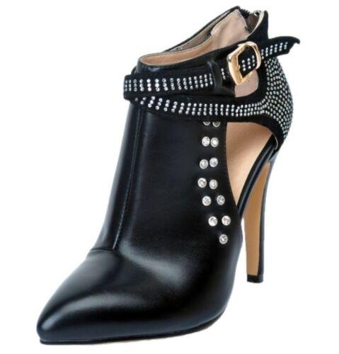 tacco e a Stivaletti donna con con sexy alla punta tacco moda spillo scarpe a 5vEZqq