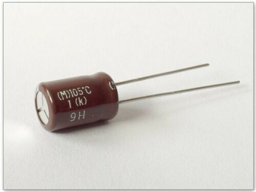 M 105°C 1 10 x ELKO Kondensator 50V 100uF 9H Modell: KY1/_10 10 Stück k