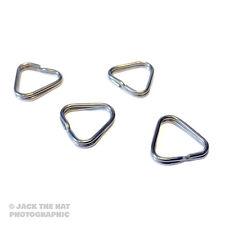 4 x Triangular Split Anillos Para Cámara Correas. anillo en D Conectores Para Nikon Etc