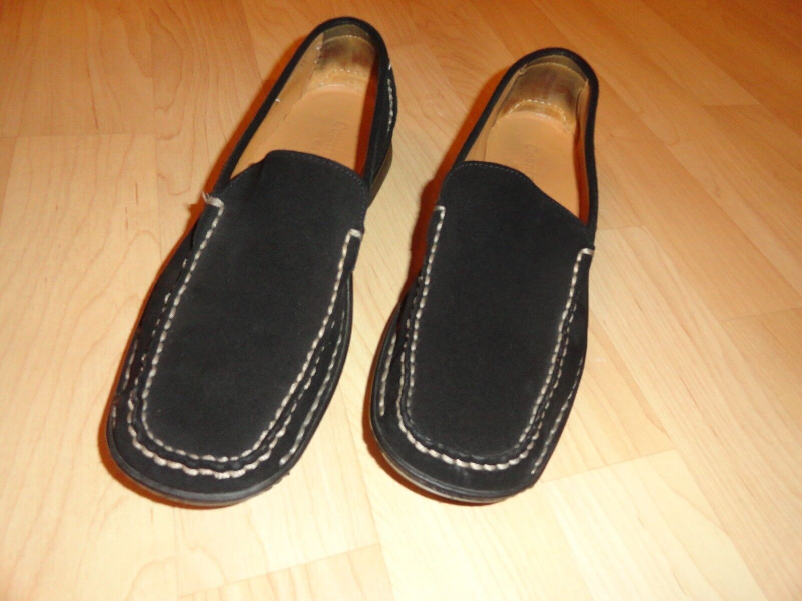 Country Shop, Mocasines Negro, Negro, Negro, tamaño 9.5 en mujeres, Italiano Made  mas barato