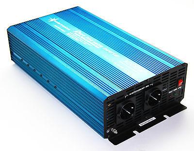 Spannungswandler 12V 3000/6000 Watt reiner SINUS Inverter Wechselrichter