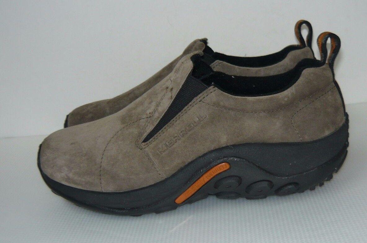 MERRELL Moc Sz WATERFROOF GREY Pelle Shoes Sz Moc 11 c72474
