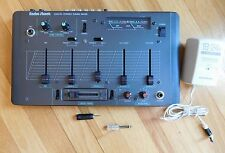 Radio Shack SSM-60 4 channel Stereo Sound Mixer VU Meter Mike Microphone AC In
