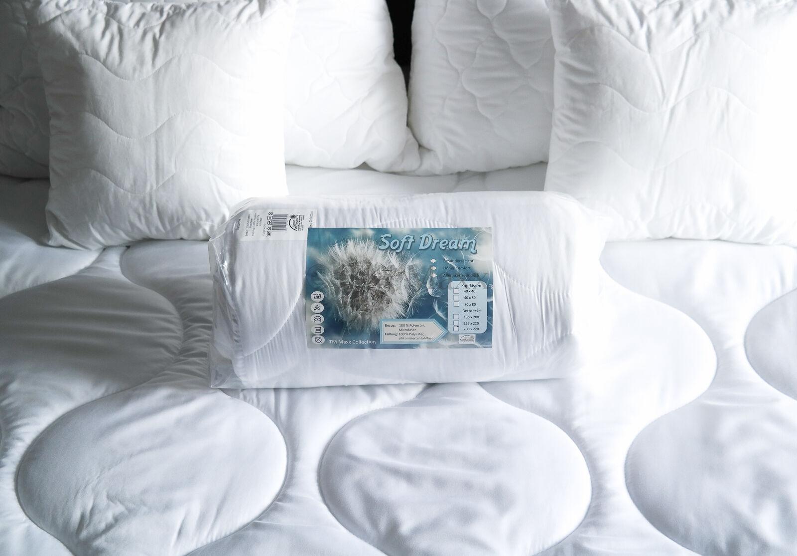 Duvet Quilt Summer Blanket Lightweight Blanket Summer Bed steppbett Microfibre 155x220
