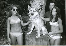 Wolk, le loup de la police marseillaise en compagnie Vintage silver print Tira