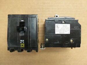 Square D QOB315 15 Amp Circuit Breaker