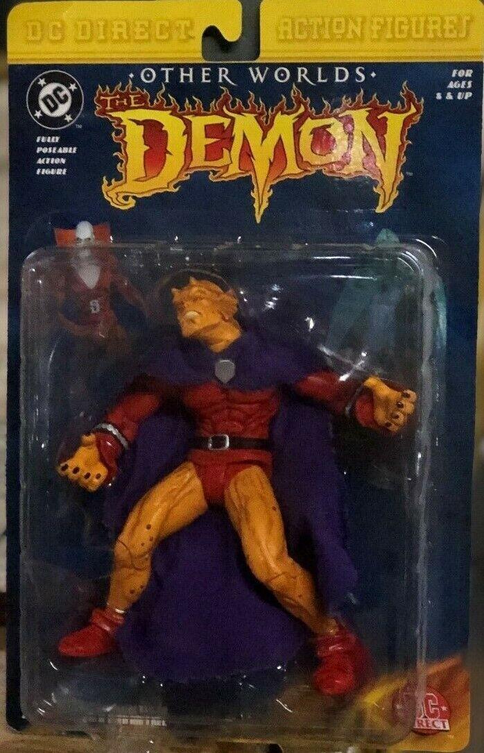 DC diretto altri mondi il demone entrigan azione cifra Nuovo di zecca SIGILLATO su autota Justice League Nuovo in Scatola