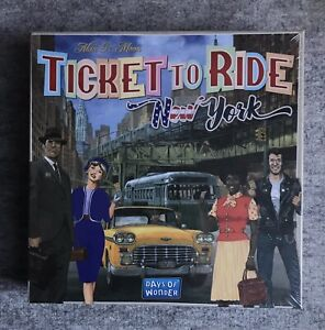 Ticket to Ride : New York : Days of Wonder : Board Game - Family Time!