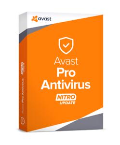 Global Avast Pro Antivirus CD 1 PC // 1-Year