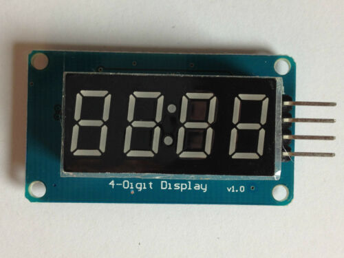 4 Ziffern 7-Segment-Anzeige ModulTM16374 Digit LED Segmentanzeige