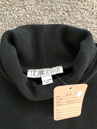 longue Donna Turtle Nouveau Pull Noir Manche Jessica Stretch Neck ExS8zwqZ