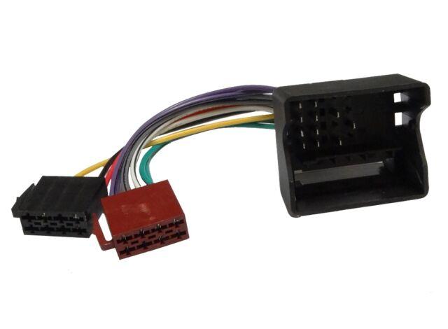 Adaptateur câble fiche ISO faisceau autoradio pour Renault Grand Scenic Koleos