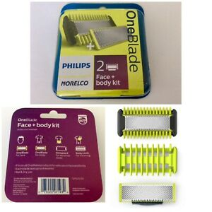 Philips Norelco OneBlade Replacement Blade Face + Body Kit