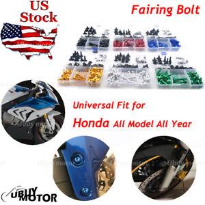 Fittings 5mm M5*16 Motorcycle Windscreen Screws Windshield Bolts Fairing Mountings for Honda CBR 600 F4i CBR1000RR CB400 VFR800