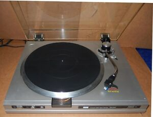 Sansui-FR-D35-Automatic-Direct-Driver-Return-Record-Player-Turntable-No-Needle