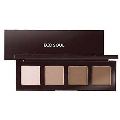 [the SAEM] Eco Soul Contour Palette 2gX4 - Korea Cosmetic
