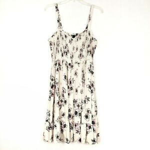 TORRID-White-Floral-Summer-Shift-Dress-women-Plus-size-2X