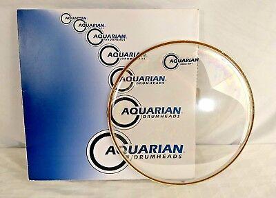"""Aquarian 12/"""" Force Ten Clear Drum Head"""