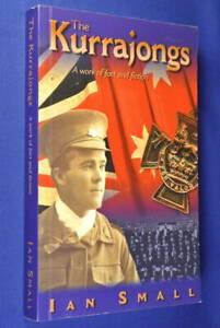 THE-KURRAJONGS-Ian-Small-SIGNED-BOOK-Australian-WWI-Novel
