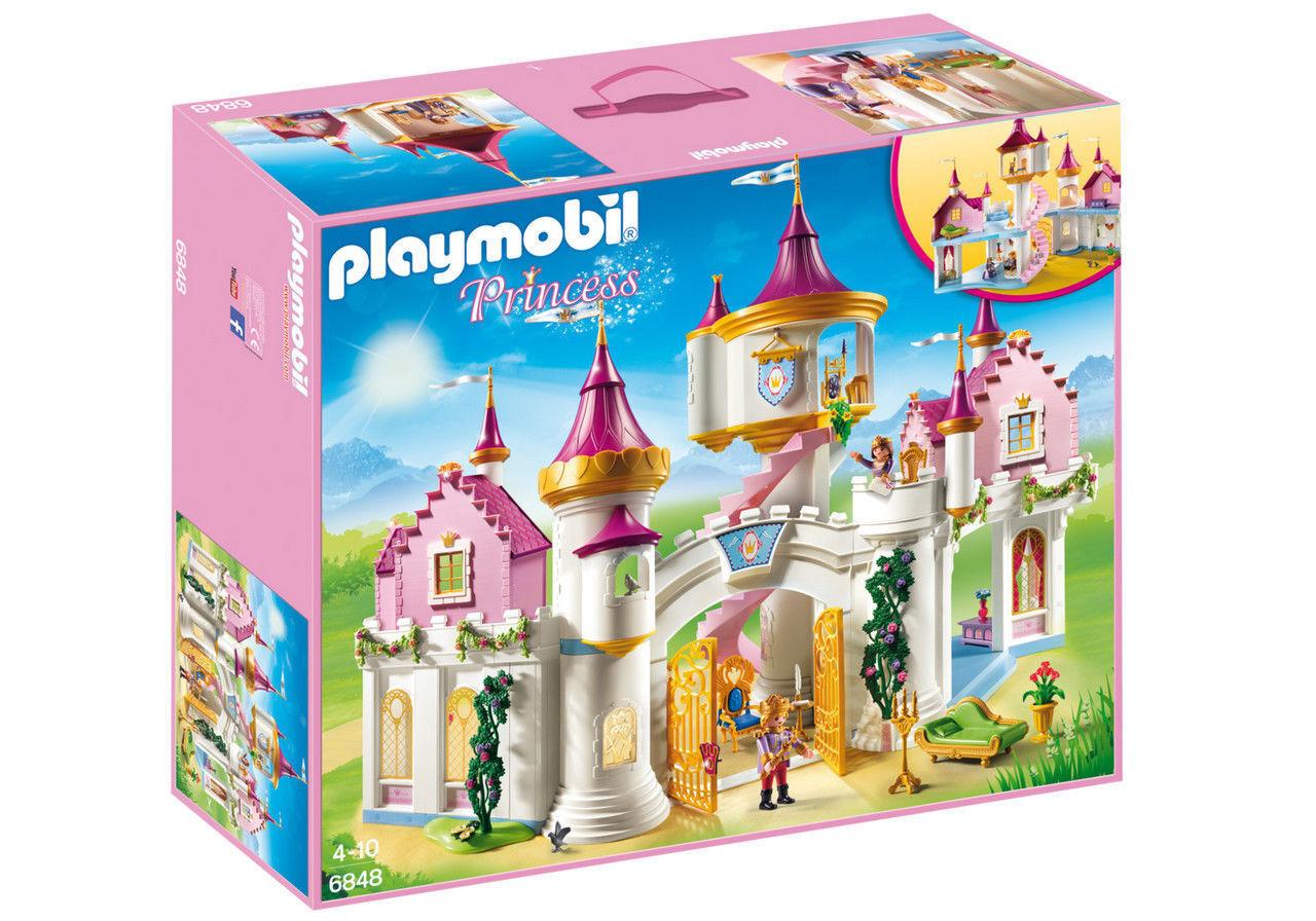 XXL XXL XXL Playmobil 6848Prinzessinnenschloss Prinzess Prinzessin Schloss Prinz König d123d1