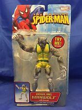 Spiderman Classic Howling Man-Wolf Marvel Legends 6 inch Figure MOC Werewolf