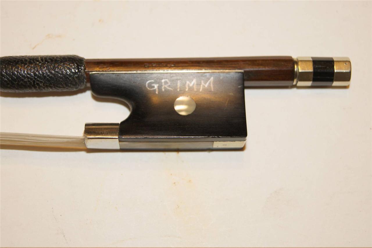 ANTIQUE  OLD  VIOLIN 4 4  GERMANY  57.7g