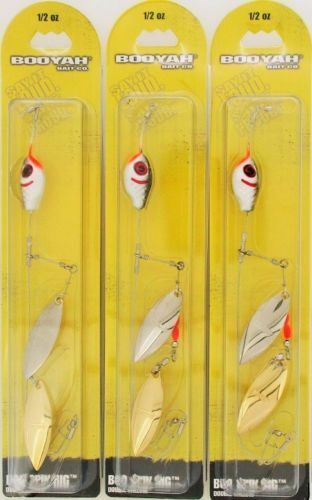 Booyah Bait Company Boo Spin Tandem Blade Rig