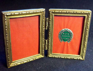 "Picture Frames Holand Antique Portrait Twice Pictures Exquisite Detailed Bronze Frame ""aegte"""