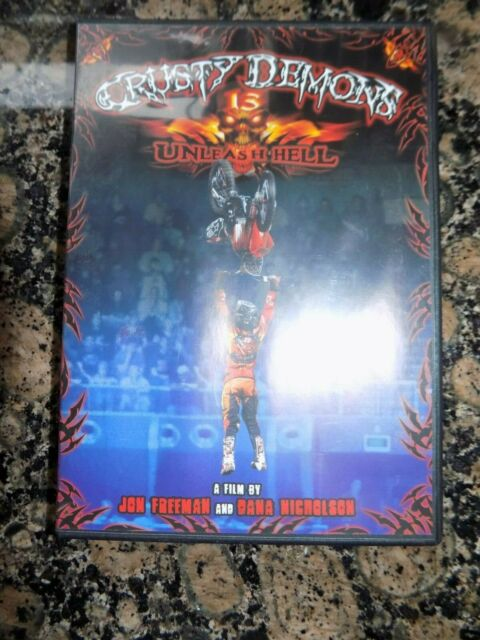 DVD CRUSTY DEMONS 13 UNLEASHED HELL