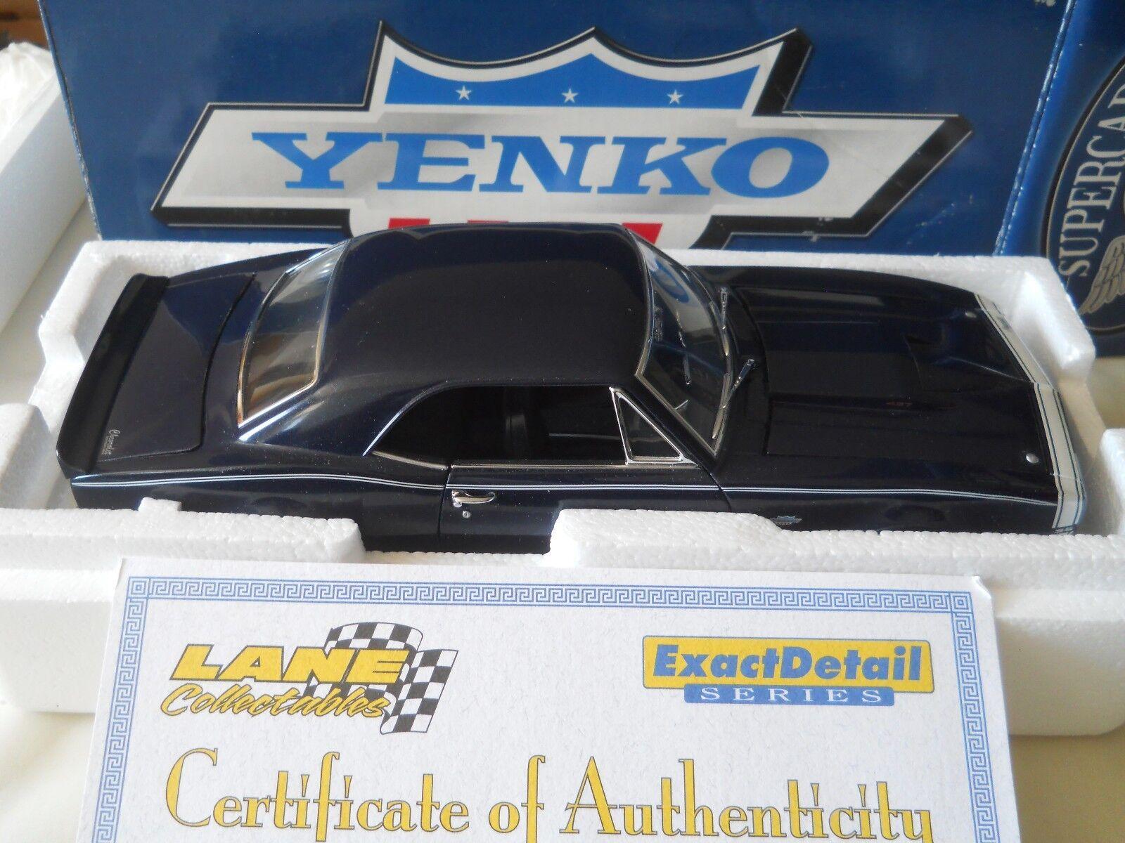Exakt Detalj 1967 Yenko Camaro SS 427 792 i 2754 1 18 tärningskast w låda