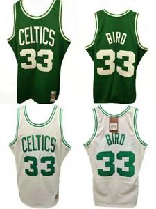 Larry-Bird-33-Boston-Celtics-Mens-S-M-L-XL-2XL-Mitchell-amp-Ness-HWC-Jersey-130