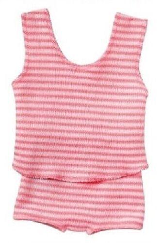 Schwenk Puppen Kleidung Unterwäsche  pink weiß gestreift für 30 - 34 cm Puppen