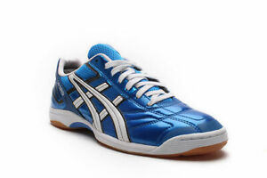 Detalles acerca de Para Hombre Zapatos Asics copero S P014Y 4301 Eléctrico Azul/Blanco/Negro Zapatos- mostrar título original