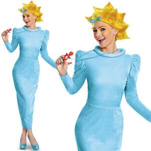 Ladies Maggie Simpson Costume The Simpsons Fancy Dress Tv Film Cartoon Outfit Ebay