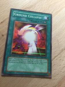 PSV-070 Unlimited Edition Near Mint Common YuGiOh Ground Collapse