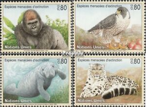 Dedicated Un-geneva 227-230 complete Issue Unmounted Mint Never Hinged 1993 Affected A A Wide Selection Of Colours And Designs