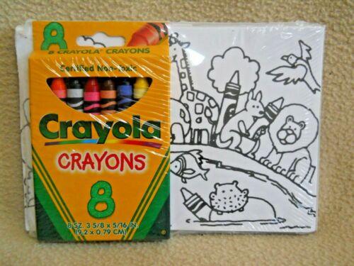 Vintage CRAYOLA Color Me Note Cards NEW Crayons Envelopes