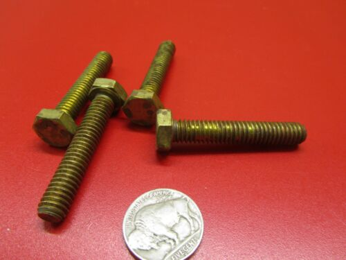 """10 pc Cap Screw Bolt 5//16/""""-18 x 1 3//4/"""" Length Brass"""