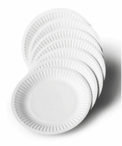 sc 1 st  eBay & Pack of 100 White Disposable Paper Plates for BBQ and Parties 7