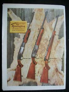 VTG-1960-Orig-Magazine-Ad-Remington-Most-Famous-Gun-Name-In-Shooting