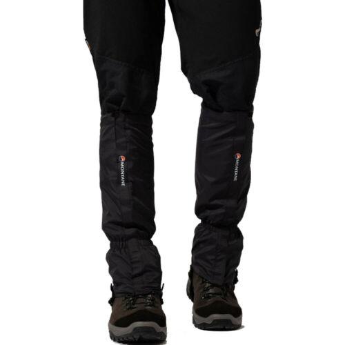 Montane Homme Sortie Gaiter-Noir Sport Extérieur Respirant Léger