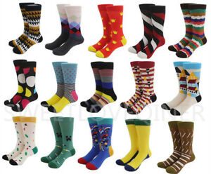 Mens-Cotton-Happy-Socks-Colorful-Fashion-Fancy-Casual-Sock-Male-SOX-wedding-Gift