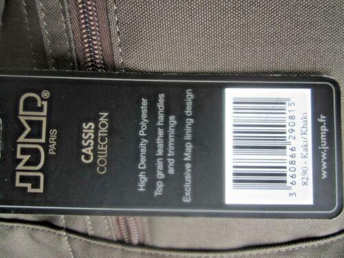 Duffle Cabin Paris Bag Bnwt Handles Size 8290 Shoulder Jump Khaki New Leather qUqI806E