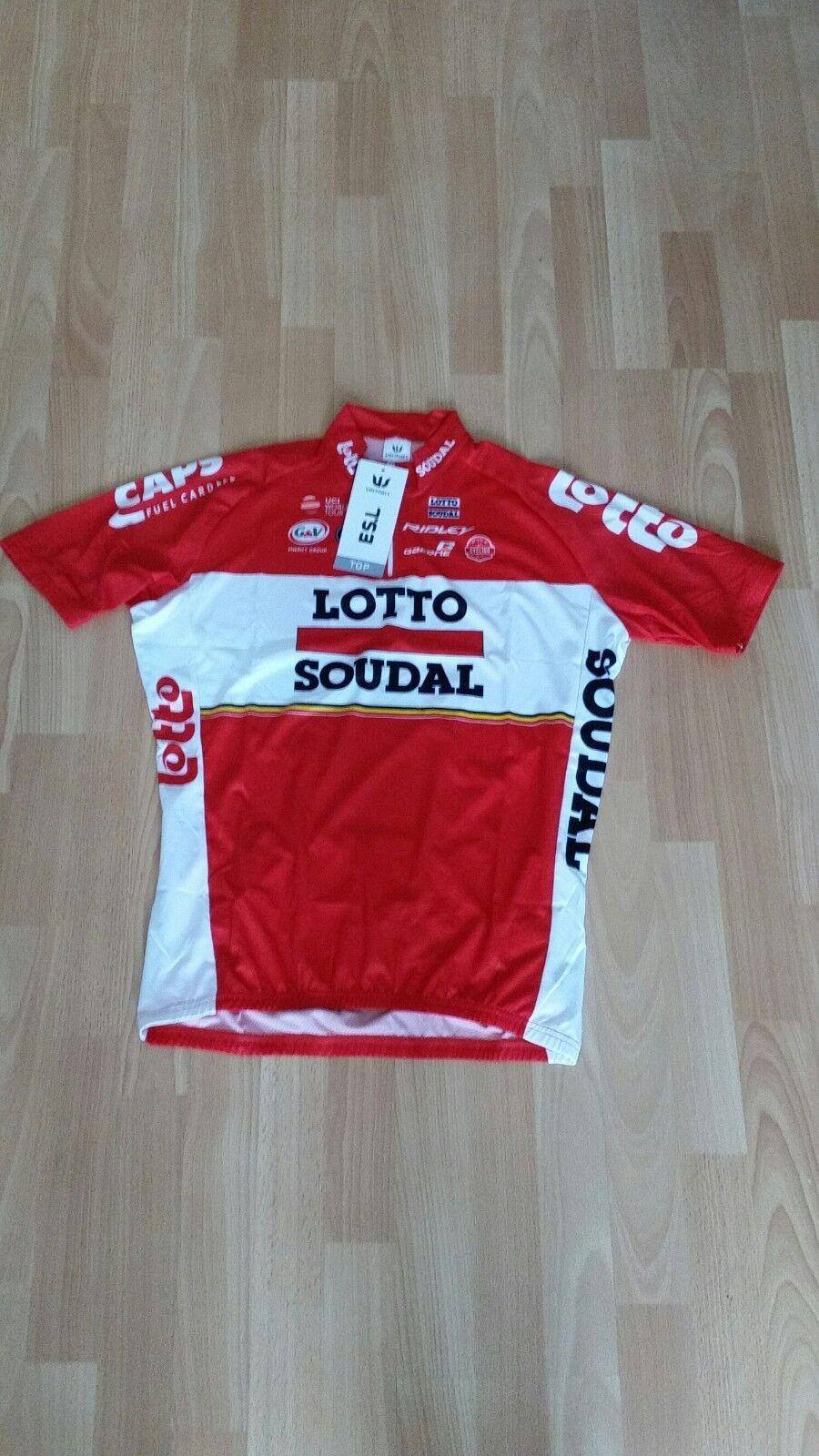 Original Original Original Vermarc LOTTO SOUDAL maillot Court Bras (L) e77cd3