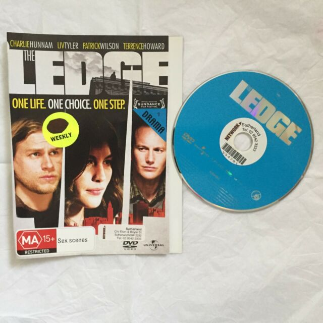 The Ledge (DVD, 2012) exrental disk only, no case (cases available $2)