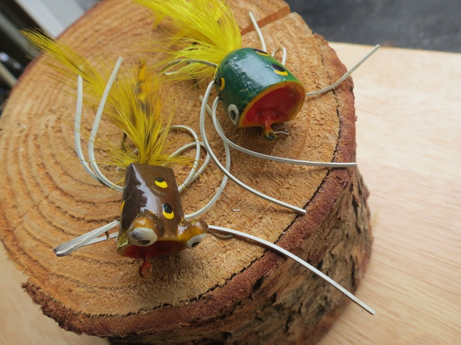Vintage Arbogast fishing poper and other (lot)