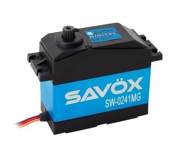 SW-0241MG Savox Waterproof Jumbo Metal Geared Servo 40kg