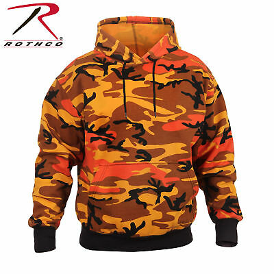 ROTHCO RED CAMOFLAGE 2790 PULLOVER HOODIE MILITARY CAMO HOODED SWEATSHIRT S-3X